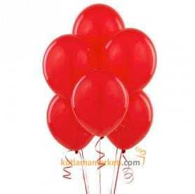 Kırmızı Balon 8 Adet