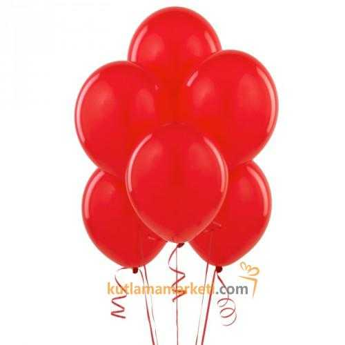 Kırmızı Balon 10 Adet