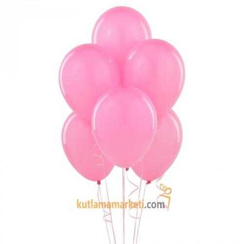 Pembe Balon 10 Adet