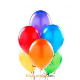 Renkli Balon 10 Adet