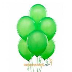 Yeşil Balon 8 Adet