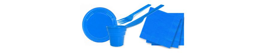 Mavi Temalı Doğum Günü Malzemeleri